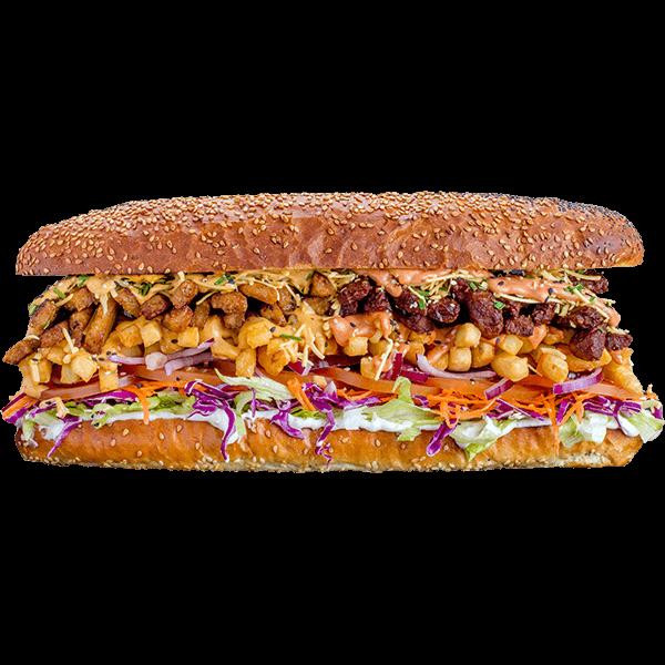Gatsby Burger - Lekker Vegan