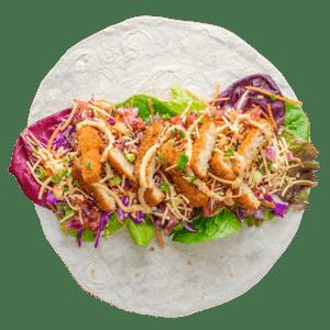 Nuggy Wrap 2 - Lekker Vegan